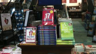 Self help books on sale in a bookstore