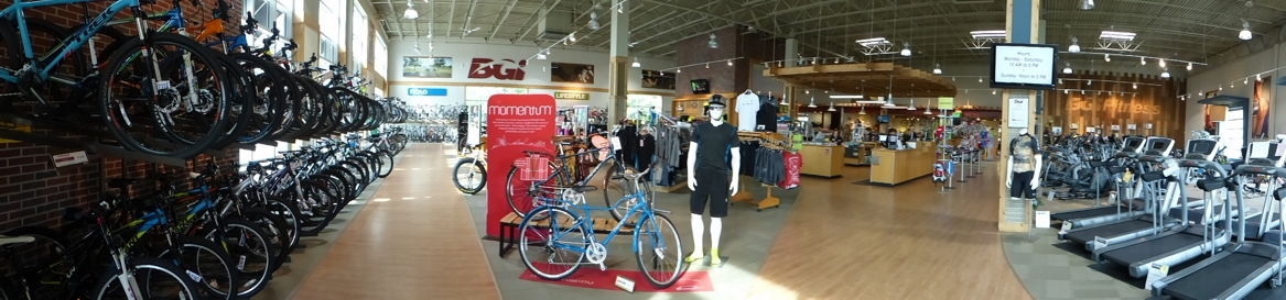 SHOP LOCAL: BICYCLE GARAGE INDY. - Terry Peloton. on