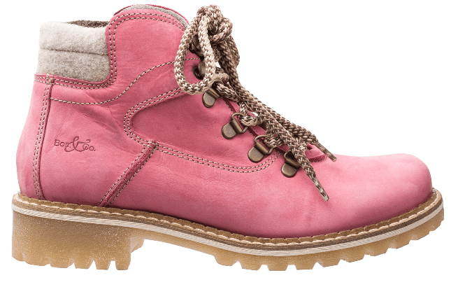Light pink Hartney Hikers made in Portugal