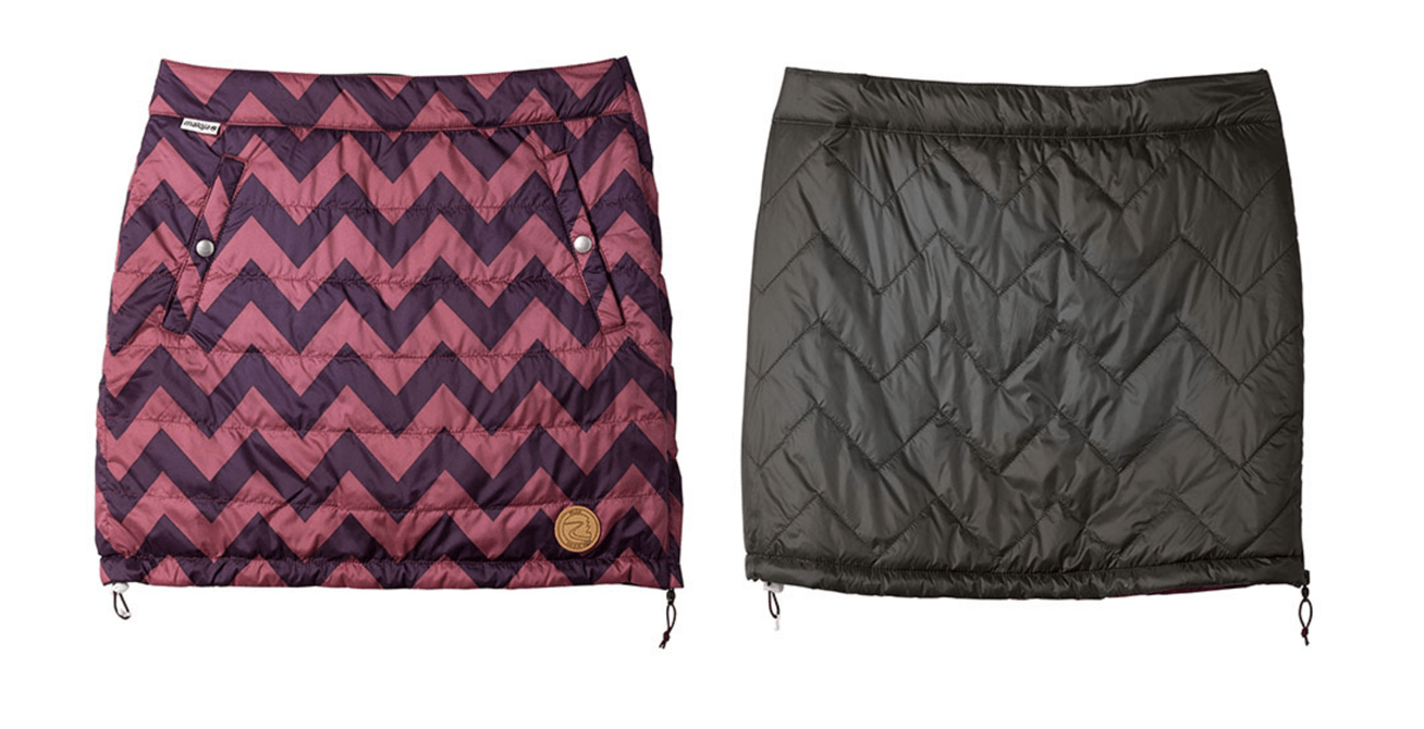 Maloja's Pisa Skirt - pockets, reversibility, thermal yumminess
