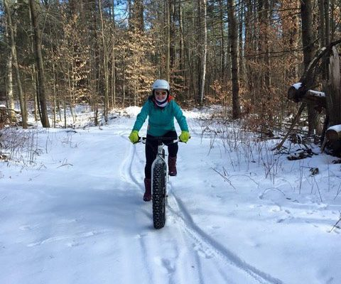FAT BIKE FUN.