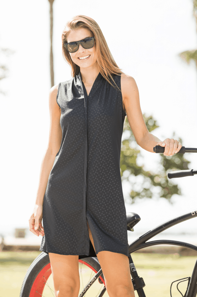 Terry Transit dress - bike to work clothing
