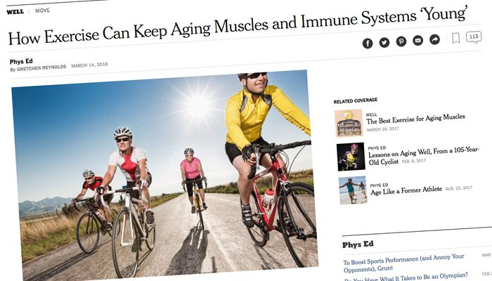 CYCLING – FOUNTAIN OF YOUTH?