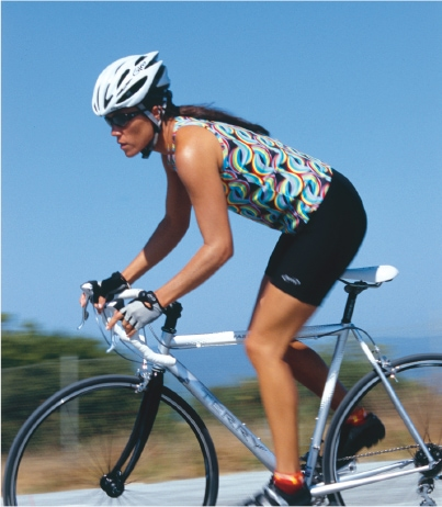 cycling comfort tips for women - comfortable riding position for women