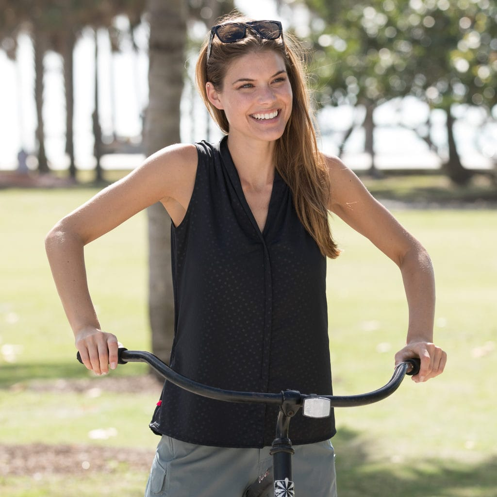 Transit top cycling shirt - bike to work clothing