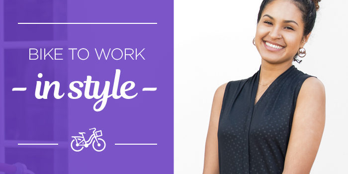 BIKE TO WORK CLOTHING FOR COMMUTING IN STYLE.