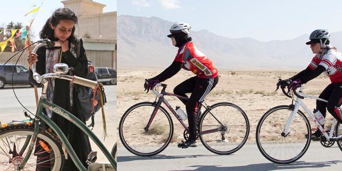 Girls Breaking Away: views of women on bikes and freedom