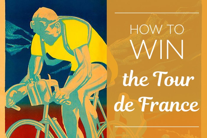 How to win the Tour de France - checklist