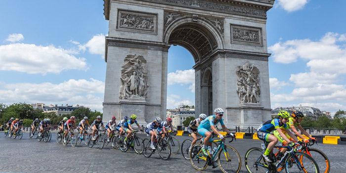 THE WOMEN'S TOUR DE FRANCE.