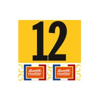 Tour de France Jerseys - Team classification number
