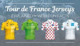 TOUR DE FRANCE JERSEY COLORS EXPLAINED.