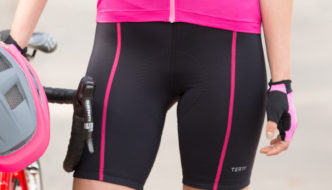 BICYCLING MEETS BELLA BIKE SHORTS.