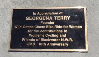 CONGRATULATIONS, GEORGENA!!