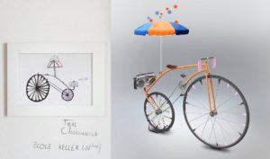 Veloicpedia childrens contest winner bike rendering
