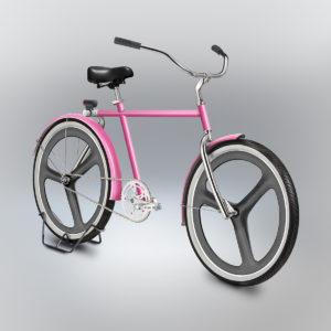 Velocipedia pink bike rendition