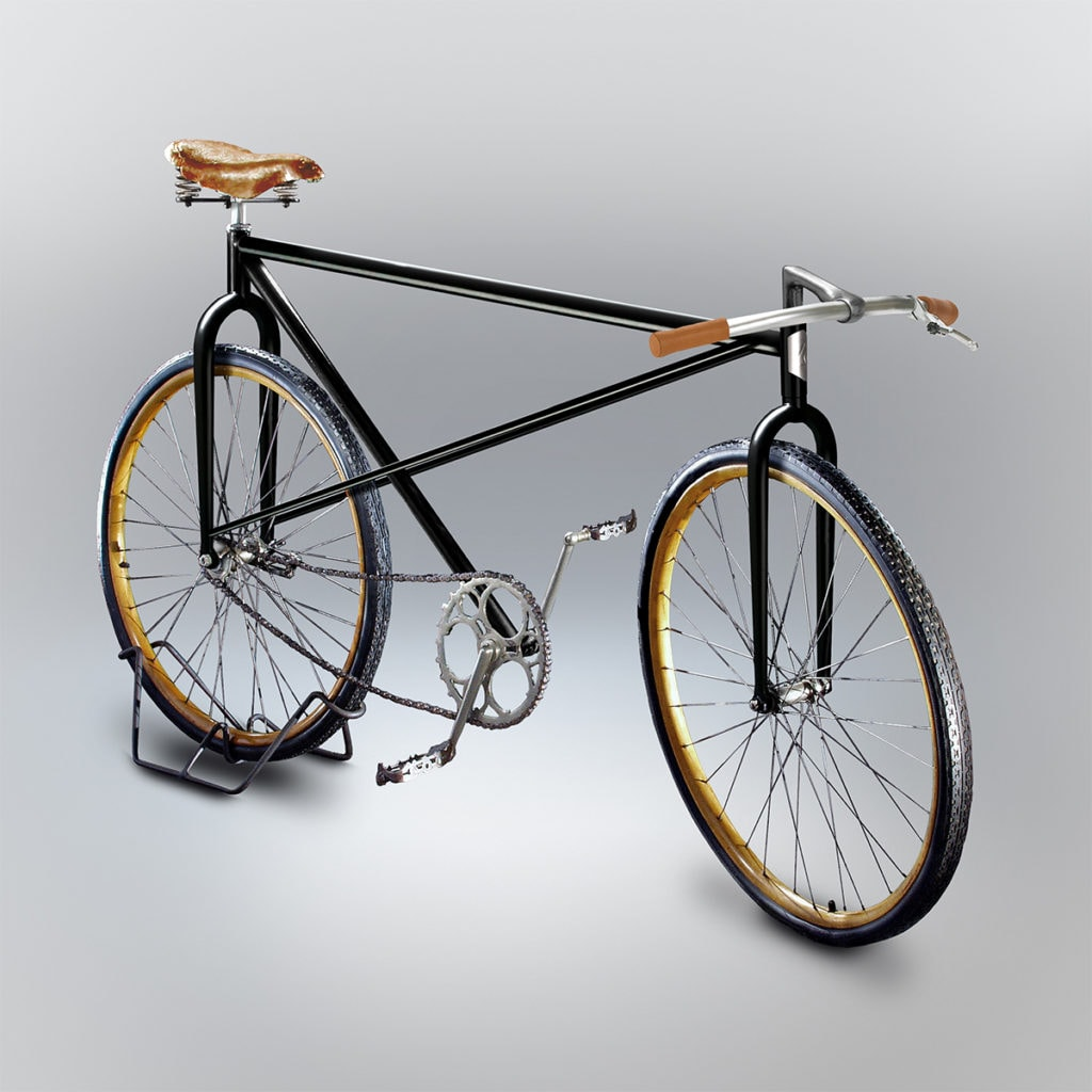 velocipedia bike 3D rendering 1