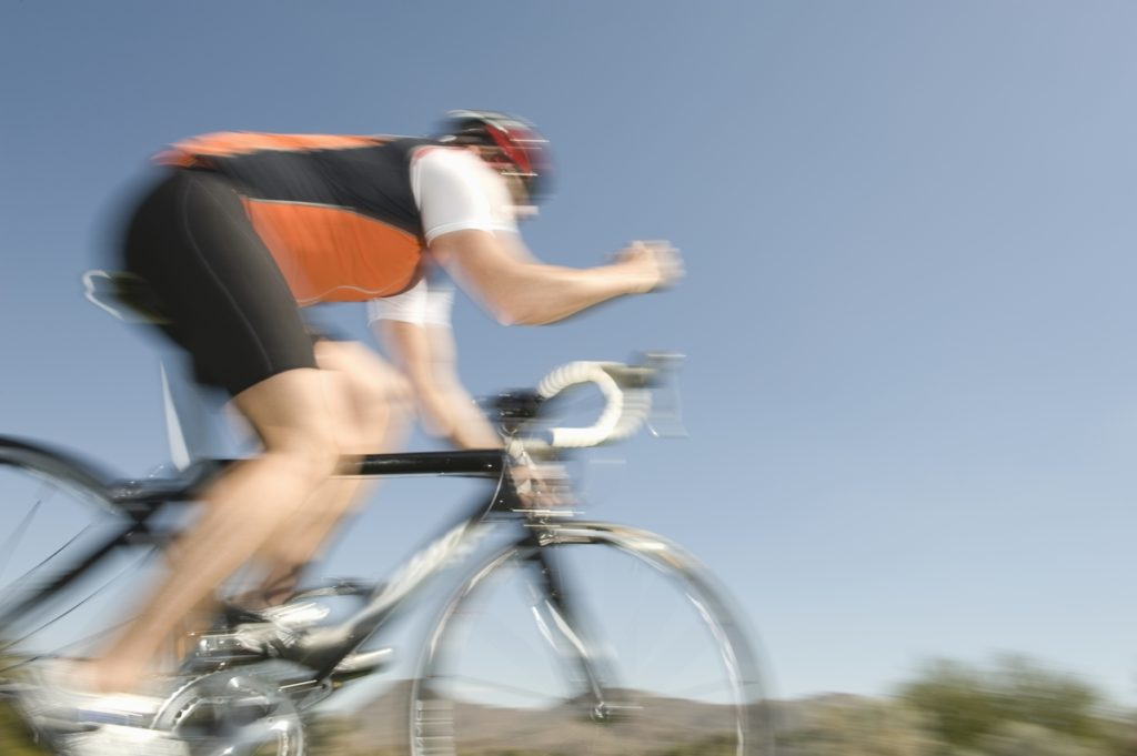Moderate to vigorous exercise like cycling helps reduce risk of Parkinson Disease