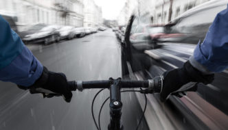 cycling dooring hazard