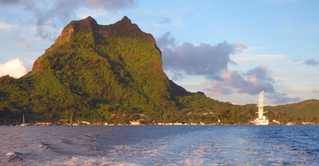 Tahiti tandem tour - View of Bora Bora