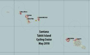 Tahiti tandem tour - Our Polynesian Island tour routes