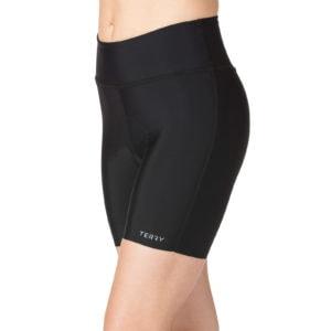 Photo of model wearing Terry Chill 5 Bike short