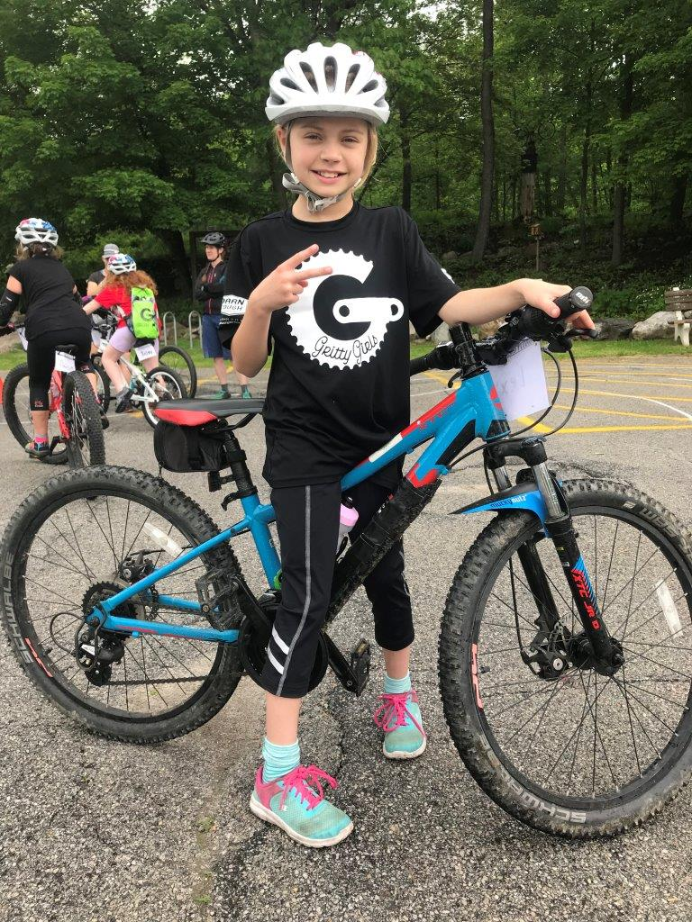 gritty girls on mountain bikes participant