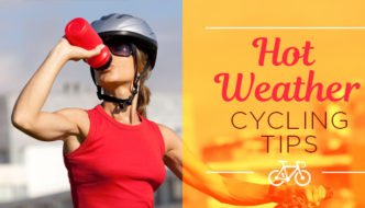 hot weather cycling tips