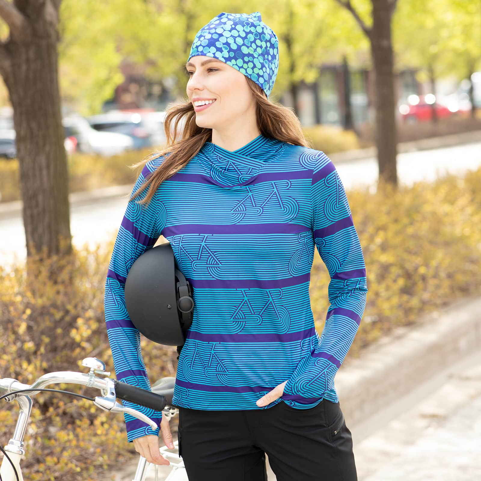 Soleil Hoody makes a great gift for cyclists and others