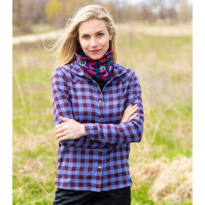 Cozy flannel shirt makes a great gift idea for cyclists as it's bike friendly but great to wear anywhere